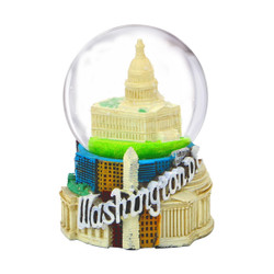 Mini Washington DC Snow Globe US Capitol