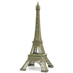 Large Eiffel Tower replicas for home decor, 19 inches tall