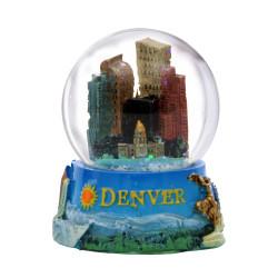Denver Snowglobe Mini 2.5 Inches