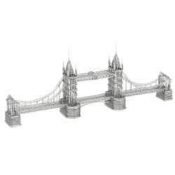 London's Tower Bridge Wire Model
