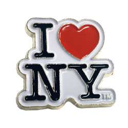 I Love NY Lapel Pin