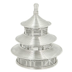 China's Temple of Heaven Wire Model Statue