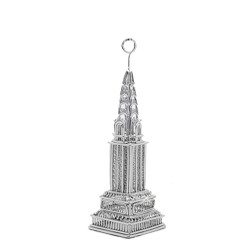 Chrysler Building  Photo and Memo Clip Metal