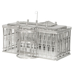 White House replica wire model