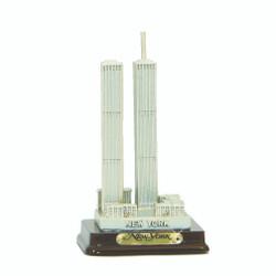 Twin Towers Replica Statue