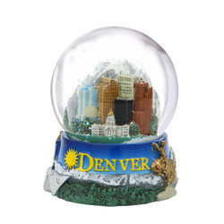 65mm Denver, Colorado Snow Globe
