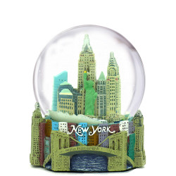New York City Snow Globe Skyline 2.5 Inches