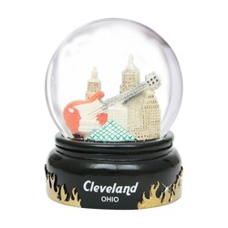 65mm Cleveland, Ohio Snow Globe