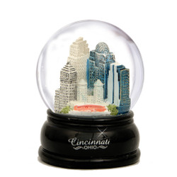 65mm Cincinnati, Ohio Snow Globe