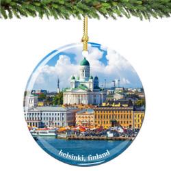 Finland Christmas Ornament of Helsinki