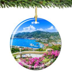St Thomas US Virgin Islands Christmas Ornament