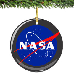 Nasa Christmas Ornament