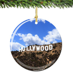 Hollywood Christmas Ornament