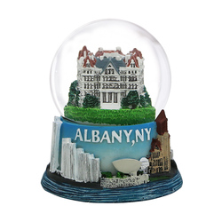 65mm Albany, New York Snow Globe