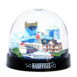 Nashville Snow Globe Plastic