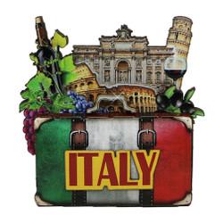 FIRENZE-FLORENZ ITALIEN-ITALY SOUVENIR MAGNET KÜHLSCHRANKMAGNET-GIFT SHOP 481