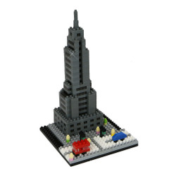 Empire State Building Mini Building Blocks