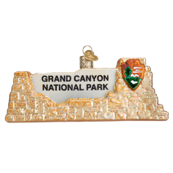 Grand Canyon National Park Glass Ornament
