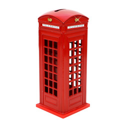 London Phone Booth Bank 5.5 Inches