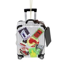 World Traveler Suitcase Christmas Ornament