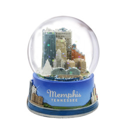 Memphis Tennessee Snow Globe 3.5 Inches