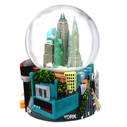 NYC Subway Snow Globe 4.5 Inches