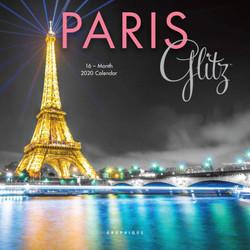 Paris Glitz Mini Calendar, Mini Wall Calendar