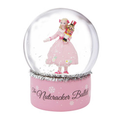 The Nutcracker Ballet Snow Globe With Clara 3.25 Inch