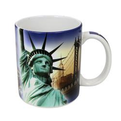 Landmarks Full Wrap New York City Mug