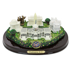 Washington DC Landmarks Executive Desk Model 8 Inches