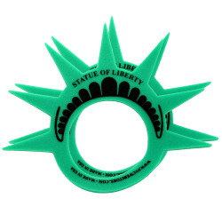 Statue of Liberty Foam Crowns, 2 Pack
