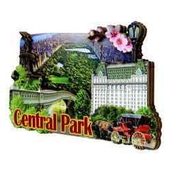3D Central Park Magnet