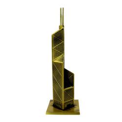 Hong Kong Bank of China Tower Bronze 8 Inches
