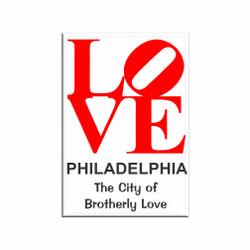 Love Philadelphia Magnet