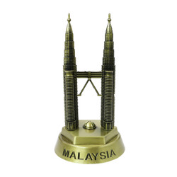 Malaysia's Petronas Towers Bronze Replica 7.25 Inches