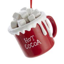 Hot Chocolate Christmas Ornament