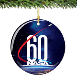 60th Anniversary NASA Christmas Ornament