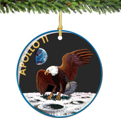 NASA APOLLO II Christmas Ornament