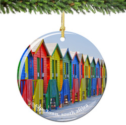 Cape Town South Africa Christmas Ornament