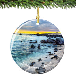 Galapagos Islands Christmas Ornament