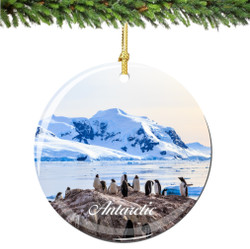 Antarctic Christmas Ornament