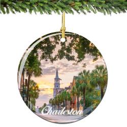 Charleston South Carolina Christmas Ornament