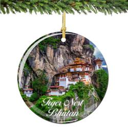Bhutan Christmas Ornament