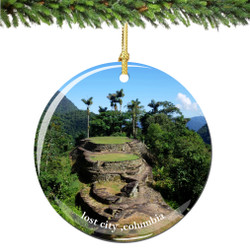 Columbia Lost City Christmas Ornament