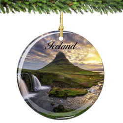 Iceland Christmas Ornament
