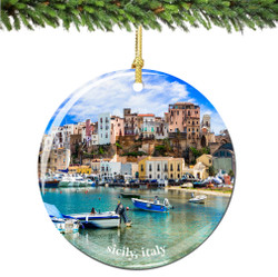 Sicily Christmas Ornament