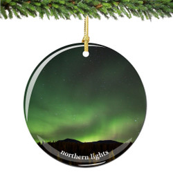 Northern Lights Christmas Ornament