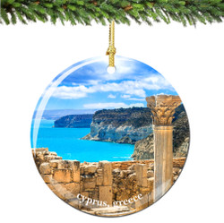 Cyprus Christmas Ornament