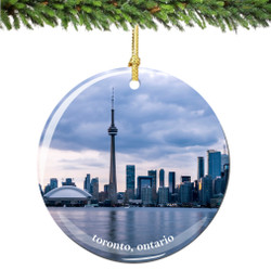 Toronto Christmas Ornament