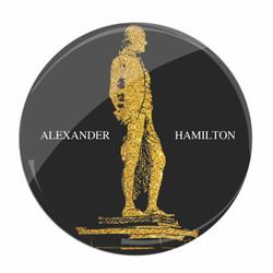 Broadway Hamilton Souvenir Pin